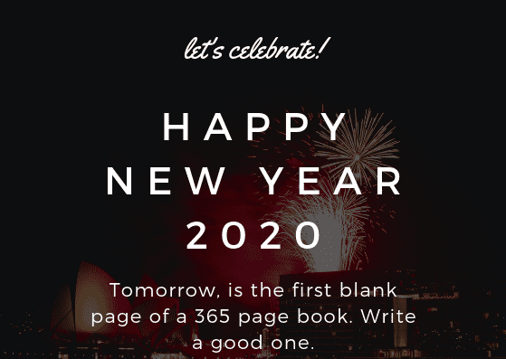 Happy New Year 2020 Wishes Images Quotes Messages Pictures