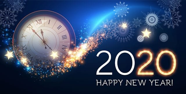 Advance Happy New Year 2020